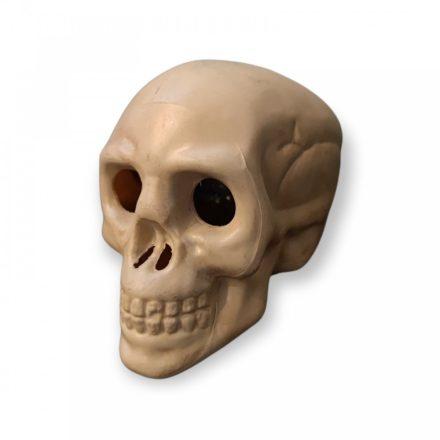 Halloween  KOPONYA, világítós, 3 db elemmel, 8,5 cm
