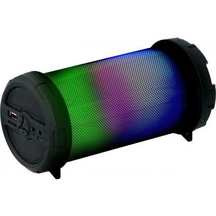 Hangszóró hordozható, színváltós ledekkel, bluetooth, DUNLOP