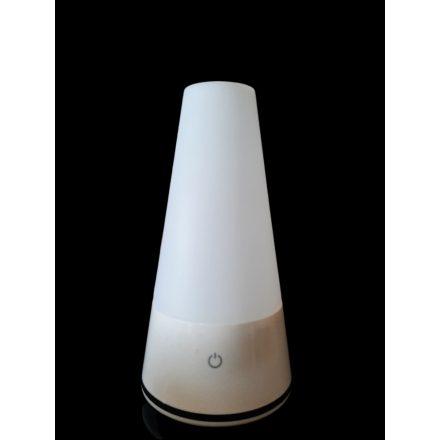 Asztali lámpa 3 fényerősséggel, USB / elemről üzemeltethető, hodozható