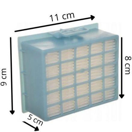 HEPA szűrő/ filter Bosch GL-30 GL-20 ProPower BBZ156HF porszívóhoz