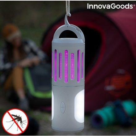 3 az 1-ben hordozható szúnyogriasztó lámpa, fáklya és lámpa Kl Tower InnovaGoods
