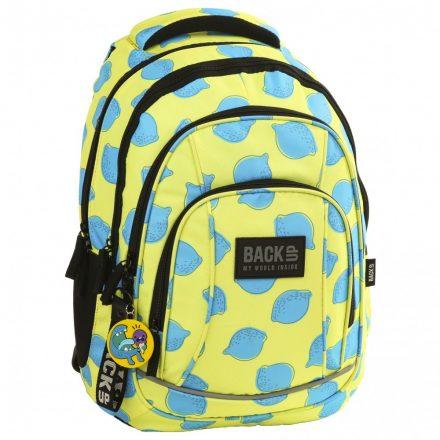 BackUp citromos hátizsák/ iskolatáska az igazán jó arcoknak