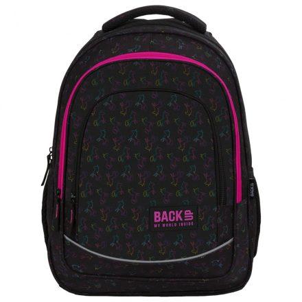 Unikornisos BackUp ergonómikus hátizsák, iskolatáska