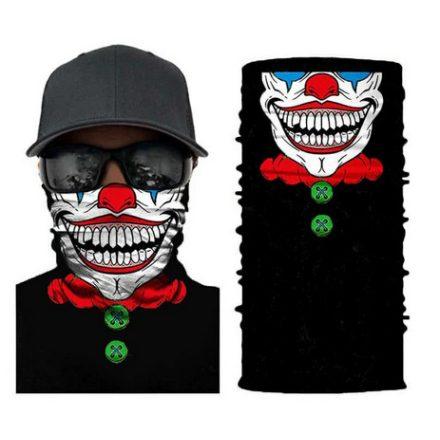 Joker csősál, maszk, kendő neoprémből
